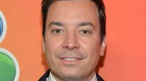 Jimmy Fallon was spotted shopping with 1-year-old daughter