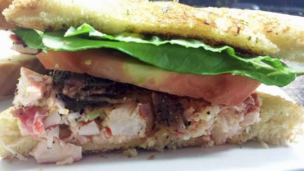 The lobster BLT served at Mara's Homemade in