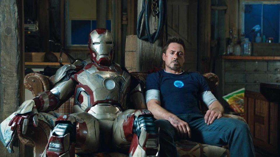 Robert Downey Jr. is Tony Stark in superhero