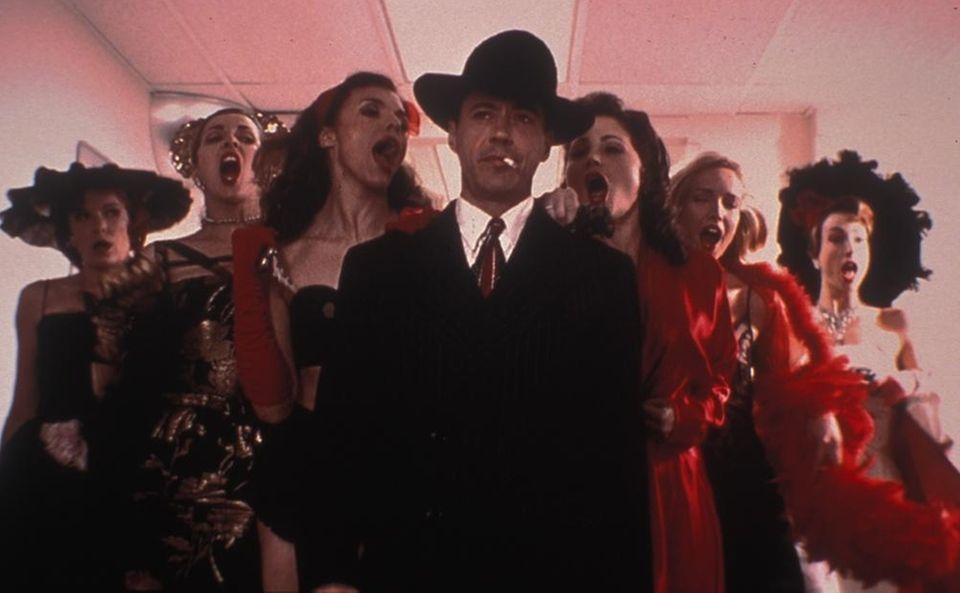 Director Keith Gordon's musical comedy crime film,