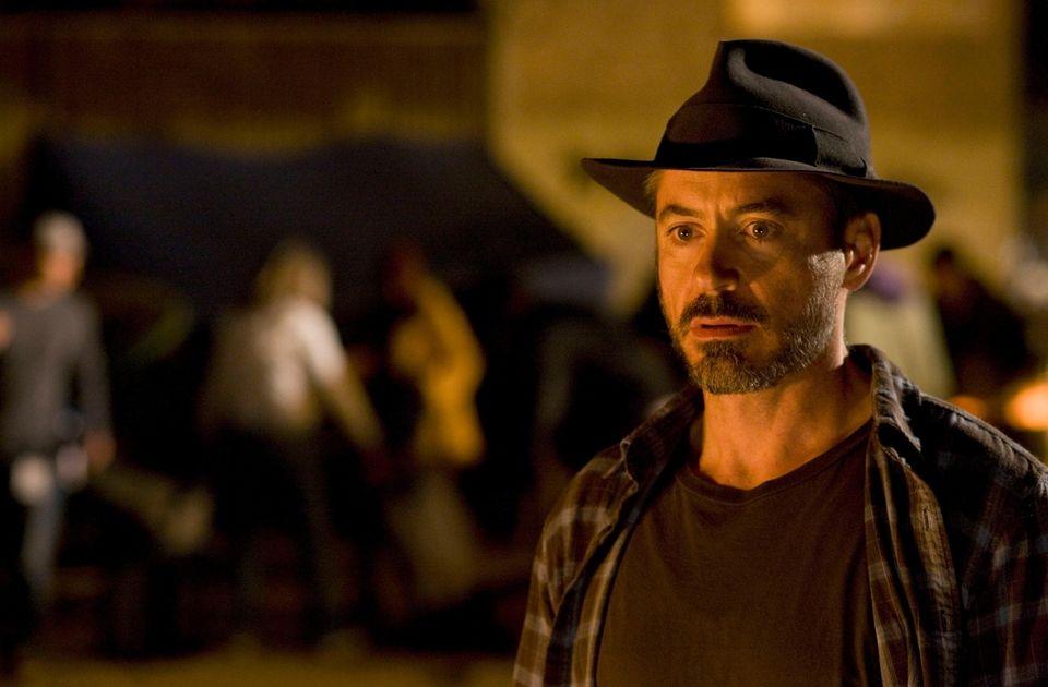 Robert Downey Jr. stars opposite Jamie Foxx in