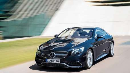 The 2015 S65 AMG Coupe.