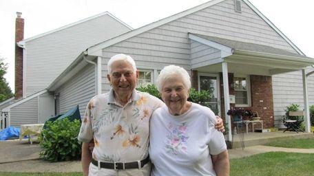 Bernie and Shirley Gershen shown July 22, 2014,