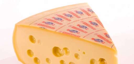 Made in Switzerland, Emmentaler is the true Swiss