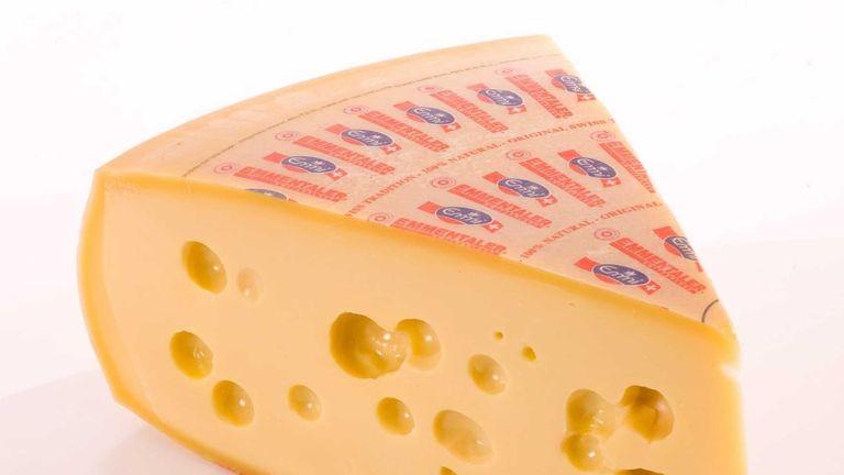Made in Switzerland, Emmentaler is the true Swiss
