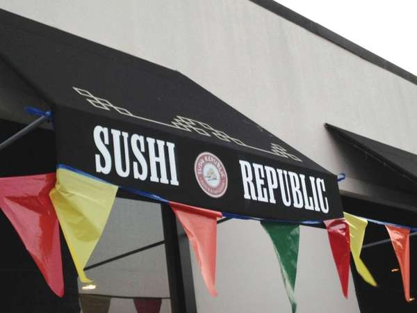 Sushi Republic has opened in the New Hyde