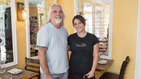 Restaurateur Tom Schaudel and his daughter Courtney Schaudel