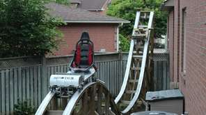 The Minotaur, a roller coaster built by David
