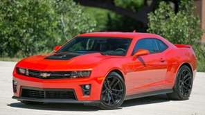Chevrolet Camaros from 2011 and 2012 are included