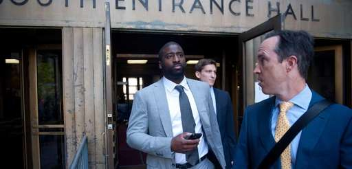 Former Knicks guar Raymond Felton leaves Manhattan Supreme