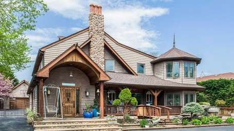 This Hewlett home on the market in July
