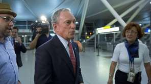 Mike Bloomberg, former New York City mayor, prepares