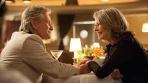 Oren (Michael Douglas) and Leah (Diane Keaton) finally