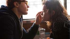 "A scene from ""I Origins""starring Michael Pitt, French"