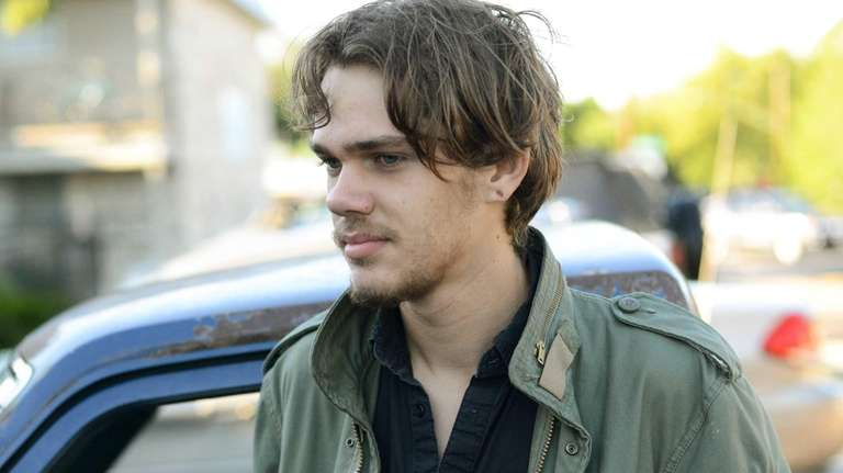 Ellar Coltrane at age 18 in a scene