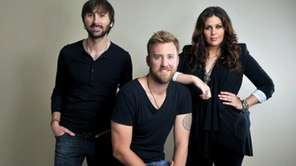 Members of Lady Antebellum, from left: Dave Haywood,