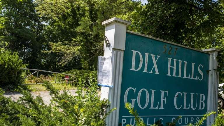 The former site of the Dix Hills Golf