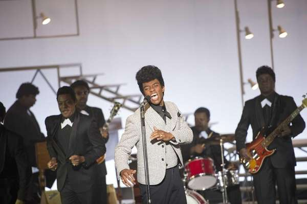 Chadwick Boseman stars as James Brown in the