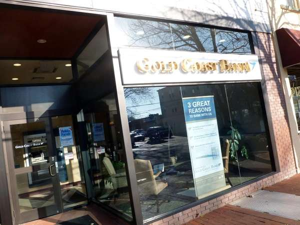 Gold Coast Bank office in Huntington Village. (Nov.