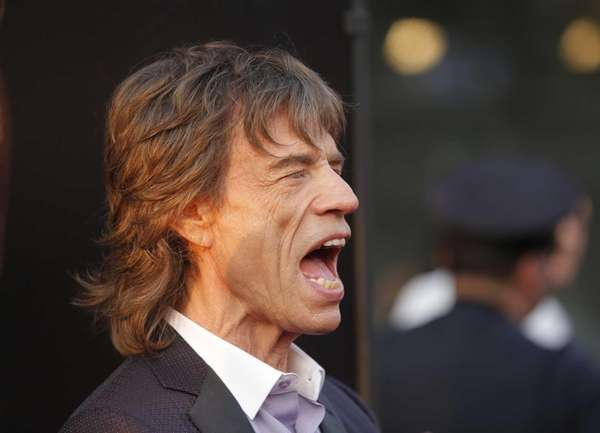 Mick Jagger at the