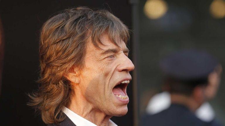 Mick Jagger at the