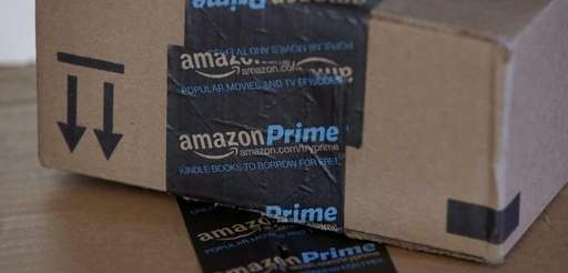 Amazon.com boxes in Phoenix on June 4, 2014.