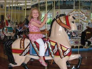 Nunley's Carousel is on Museum Row in Garden