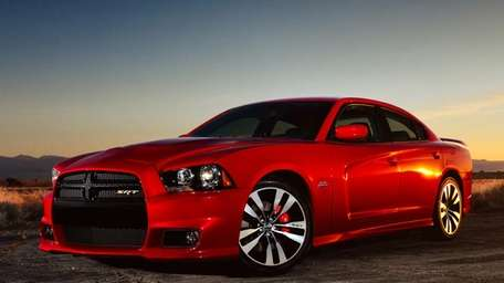 The 2012 Dodge Charger. The U.S. government's road