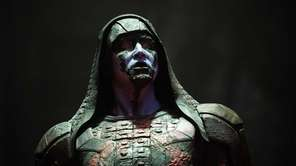 "Ronan the Accuser (Lee Pace) in Marvel's ""Guardians"