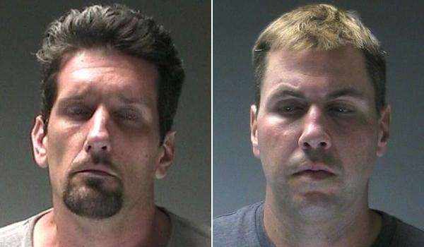 Christopher Breitkopf, left, 40, of 165 Montauk Hwy.,