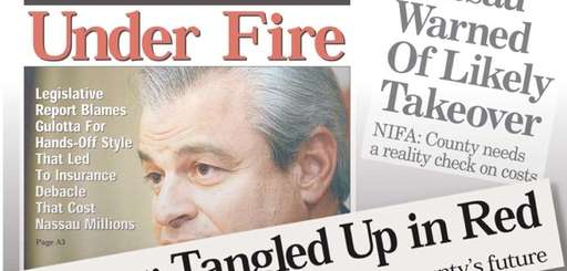 Newsday headlines from 2000 to 2001.