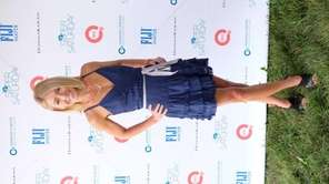 Television personality Kelly Ripa was a co-host at