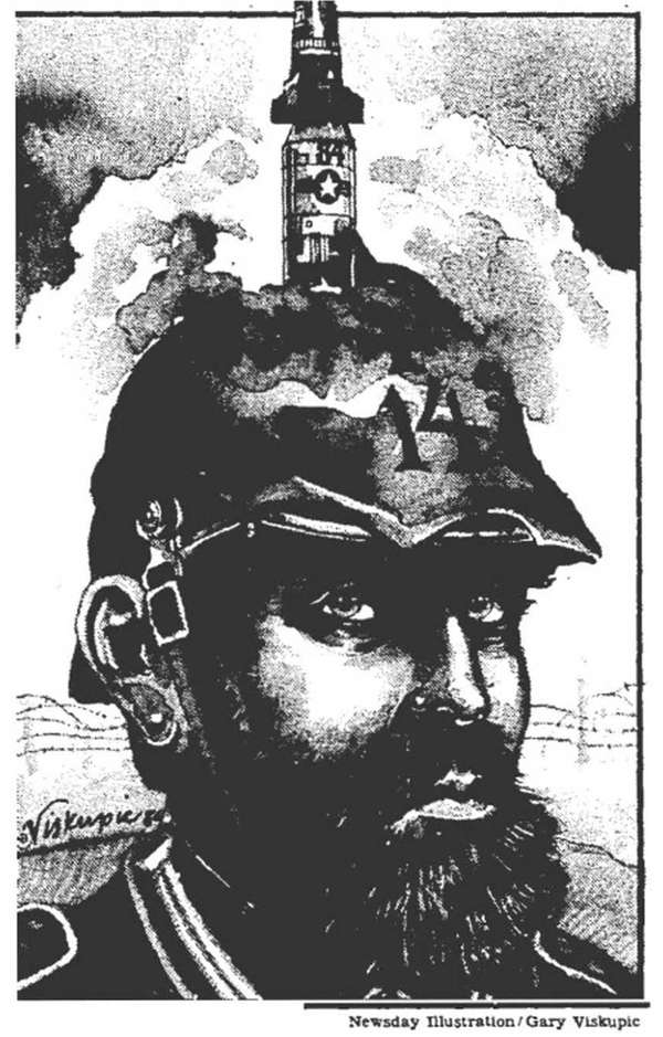 The original Newsday illustration that ran with a