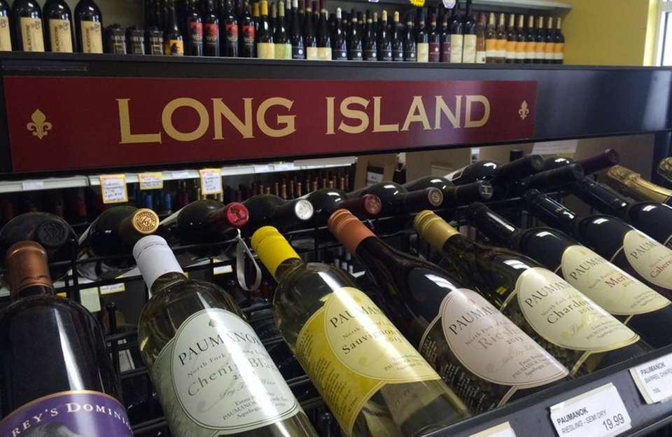 A wine store should have a Long Island