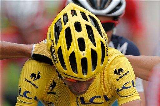 2014 Tour de France cycling race winner Italy's