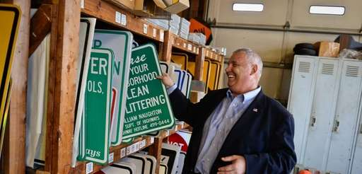 Town of Huntington Superintendent of Highways Peter S.