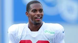 Giants wide receiver Victor Cruz during training camp