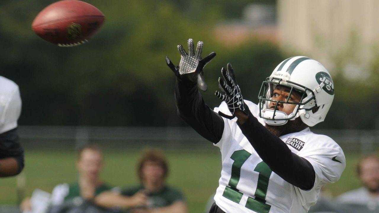 New York Jets wide receiver Jeremy Kerley (11)