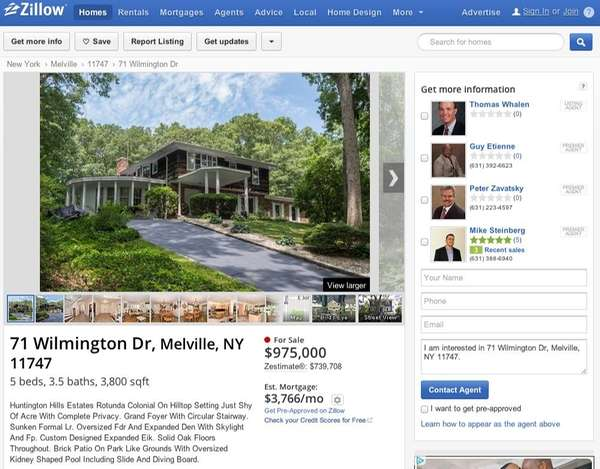 Zillow is buying rival Trulia in a $3.5