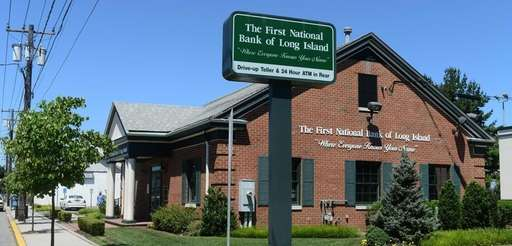 A First National Bank of Long Island branch