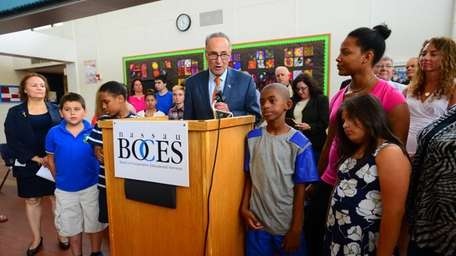 Sen. Charles Schumer calls for a passage of
