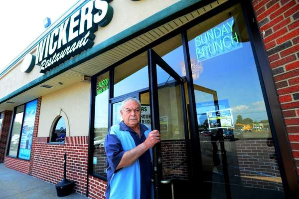 Wickers owner Luis Lopez outside his restaurant in