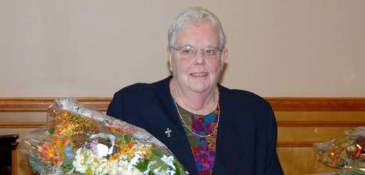 Sister Mary Waters, who founded an organization that
