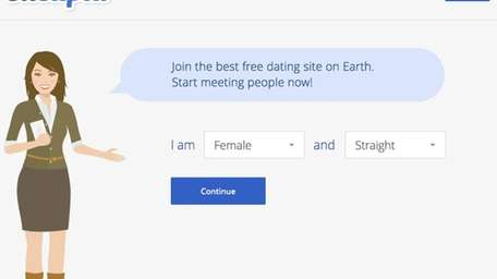 A screenshot of the OKCupid website.