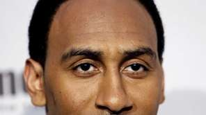 Stephen A. Smith arrives at Spike TV's Video