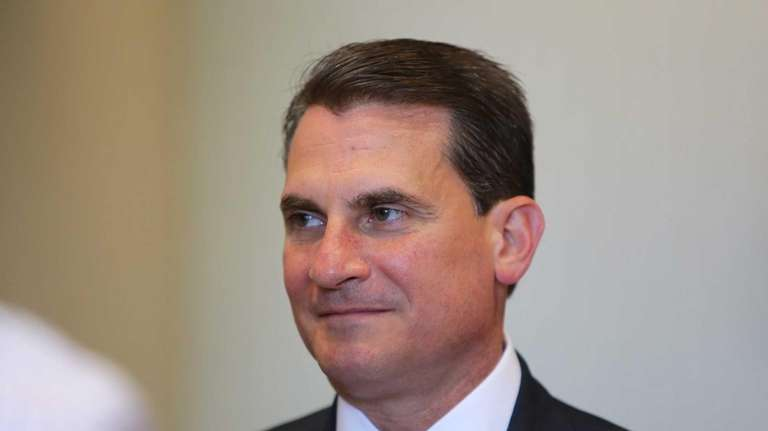 Suffolk County Sheriff Vincent DeMarco is pictured during