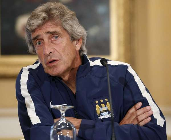 Manchester City Football Club manager Manuel Pellegrini answers
