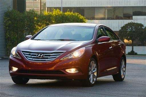 the 2013 Hyundai Sonata.