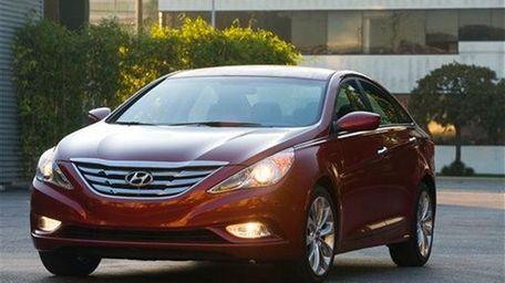 the 2013 Hyundai Sonata.
