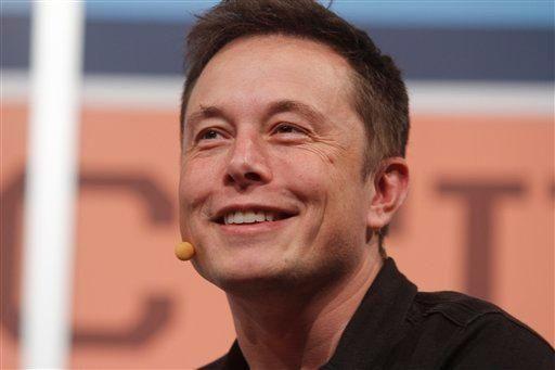 Elon Musk, owner of Tesla Motors and Space